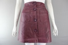 1530 X LADIES PRIMARK BUTTON FRONT 2 POCKET PVC SKIRT.. RRP £12.00.. JUST £1.50 EACH