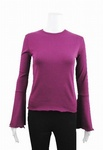 14420 x EX STORE LADIES RIBBED FLUTED LONG SLEEVE TOPS. JUST 85P EACH
