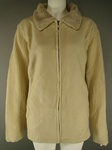 500 EX CATALOGUE LADIES BEIGE FLEECE JACKETS- JUST £1.50 EACH .