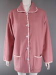 1200 EX CATALOGUE LADIES PINK FLEECE HOUSECOAT- JUST £1.50 EACH .