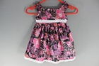 5832 x GIRLS OBAIBI PATTERNED DRESSES, 2 COLOURS, RRP €22.. JUST £2.00 EACH