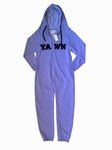 "6450 x ""YAWN"" LOVE TO LOUNGE LILAC  ALL IN ONE UNISEX ONESIES ONESIE JUST £2.25 EACH"